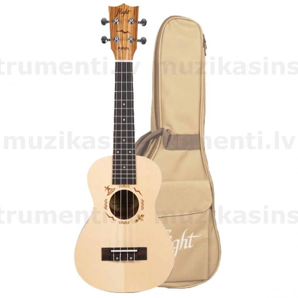 Koncerta ukulele Flight DUC525 SP/ZEB