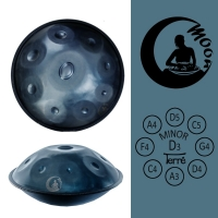 Handpan Moon D-Minor